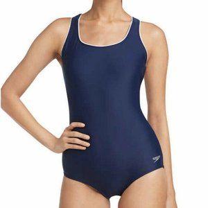 Speedo Ladies' Sun Protection One Piece Swim Suit